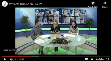 Lviv TV about Promote Ukraine