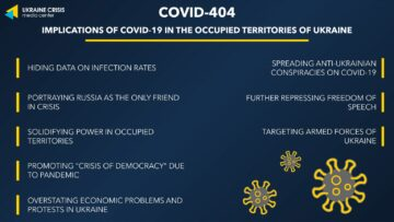 Analysing Russia's narratives around COVID-19 in the occupied territories of Ukraine: Oleksandra Tsekhanovska