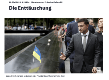 Disappointment about Zelenskyy, influence of oligarchs and Poroshenko-Biden tapes: Europress on Ukraine