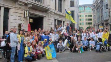 Manneken Pis becomes a Ukrainian