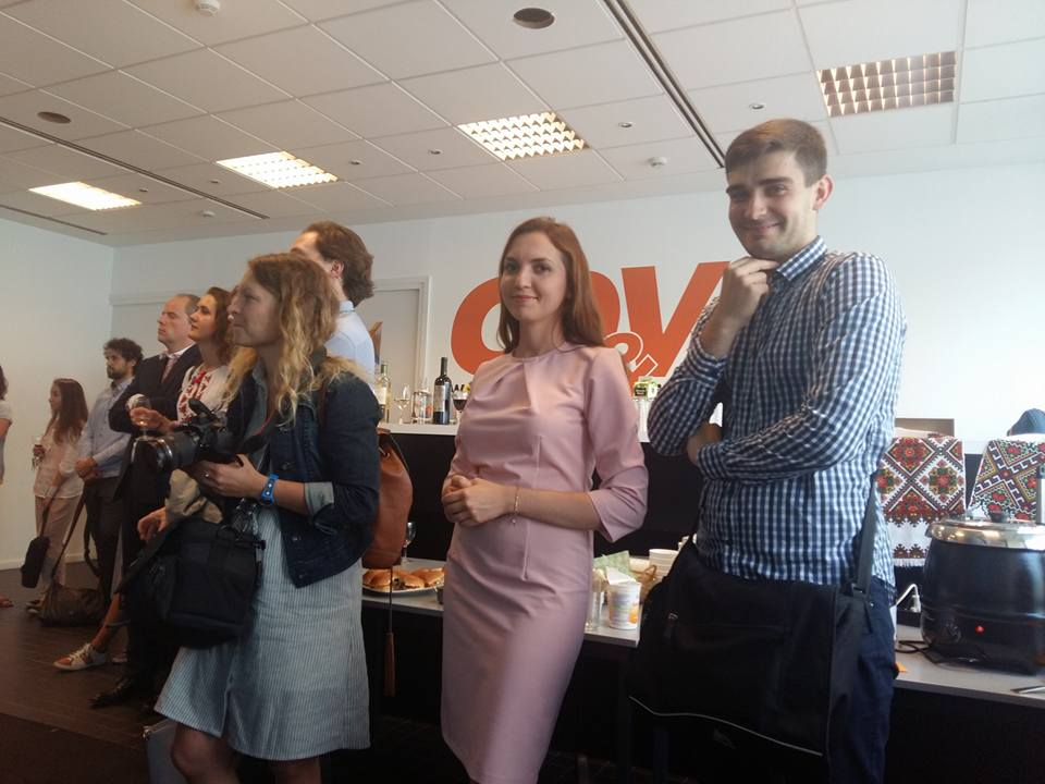 Presentation of the Ukrainian for Dutch speakers Grammar Celebration