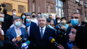 The EU is closely following the cases against Petro Poroshenko