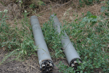 Militants launched unguided missiles at apartment buildings near Pavlopil (photo)