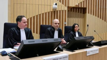 The second block of the court hearings in the case of the downed MH 17 flight liner begins in the Netherlands
