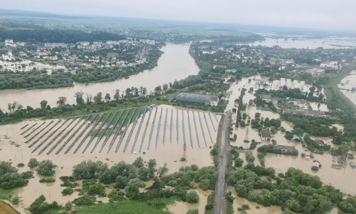 Western Ukraine flood 2020