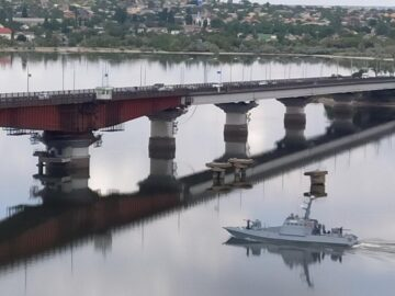 After release from Russian captivity, the military boat returned to the service of the Ukrainian Navy