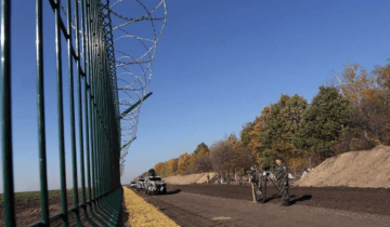 Ukraine plans to complete the wall on the border with Russia by 2025
