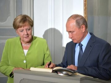 "Putin again imposed a ""direct dialogue"" between Ukraine and Russian mercenaries during a conversation with Merkel"