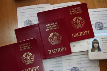 The prosecutor's office reported the suspicion of the forced passportization on the occupied territories