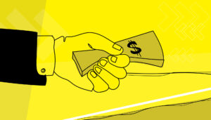 Corruption money