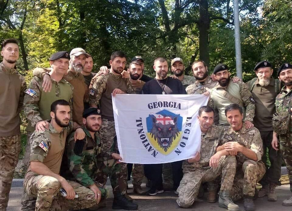 Georgia solders in Donbass