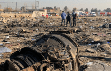 France invited Ukraine to decipher the recorders of a plane crashed in Iran