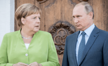 Merkel Spoke with Putin about Donbas