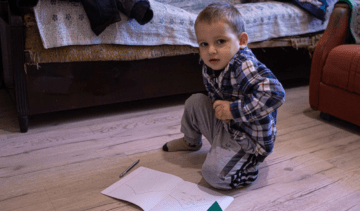 Crimea Occupation: 3-Year-Old Child Died because of Persecution of His Father