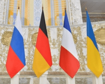 France and Germany Supported Ukraine on a Single Action Plan for Donbas