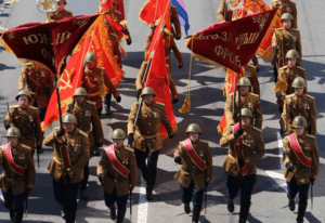 Parade in Donbass