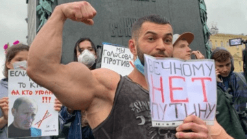 """Moscow and St. Petersburg Protest against """"Zeroing"""" Putin (video)"""