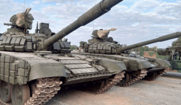1,100 Russian tanks and 330 aircraft are located along the border with Ukraine