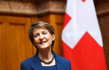 President of Switzerland to Visit Donbas
