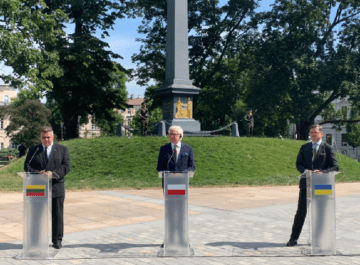 """""""Lublin Triangle"""" by Ukraine, Poland and Lithuania"""