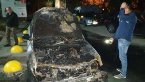 Car after fire