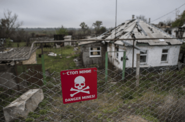In Donbas, 35,000 Hectares of Land Were Cleaned from Mines