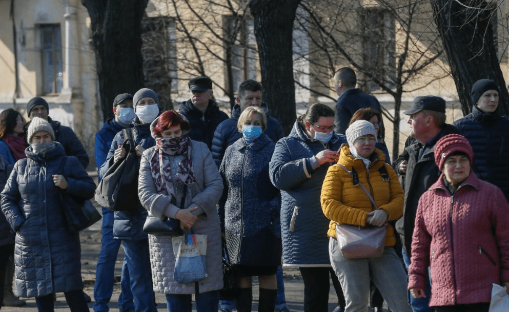 pensioners in Ukraine