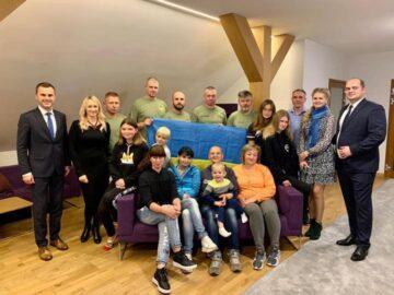 До Польщі  на  реабілітацію прибула група українських військовослужбовців