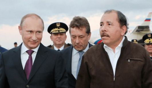 Putin Ortega meeting