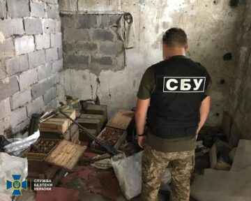 The SBU Seized Almost 100,000 Rounds of Ammunition from Militants in Donbas