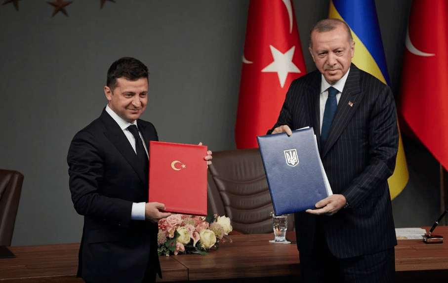 Zelensky and Erdogan