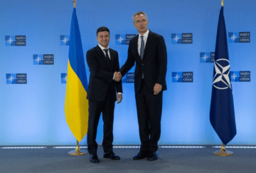 President Zelensky: Only NATO Membership Can Save Ukraine