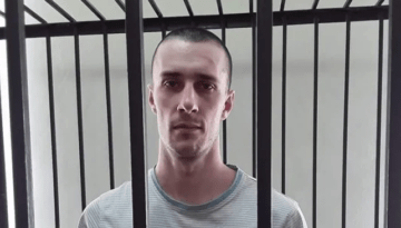 Political Prisoner Shumkov Beaten in up Russia
