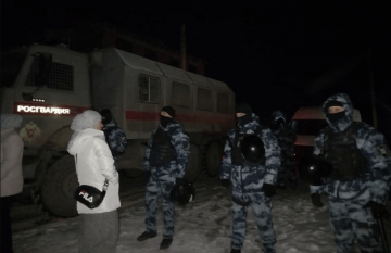 Russia's FSB Conducted Searches in Homes of Crimean Tatars in Occupied Crimea at Night