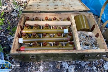 SBU Exposes Secret Arsenals of Weapons of First Deputy PM of So-Called 'LPR'