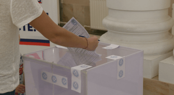 Russia Boasts of Occupied Donbas Residents' Participation in State Duma Elections