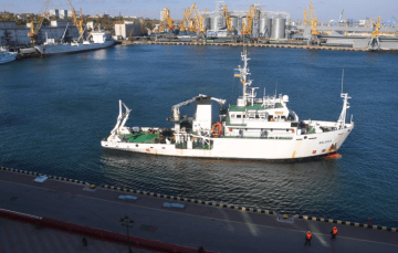 Unique Research Vessel Donated by Belgium Arrived in Ukraine